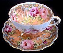 Porcelain tea cup set