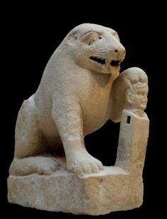 SPAIN / IBERIA / Archaeo - IBERIA. (Pre-Roman Spain) - Oso de Porcuna - Procedente de la antigua Ibolca, capital de los Túrdulos