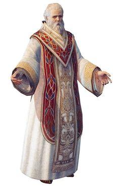 Hombre, sacerdote, patriarca, noble, viejo