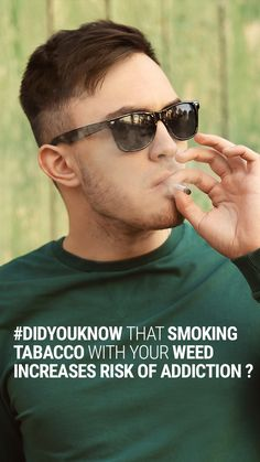 Study looks into the relationship between smoking tobacco and marijuana together for those who want to quit.