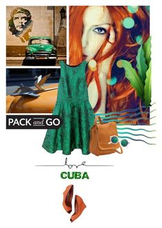 """""""Pack and Go: Cuba!"""" by lacas ❤ liked on Polyvore featuring Isolá, Le Donne, H&M, Sergio Rossi, Packandgo and cuba"""