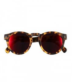 Illesteva Leonard 47mm Mirrored Sunglasses
