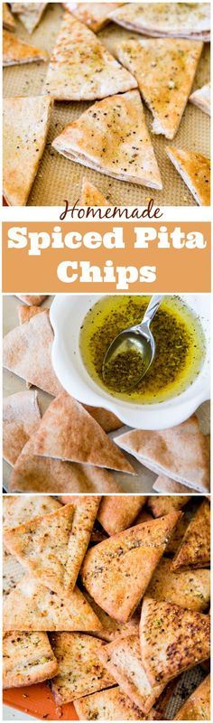 Make addicting, super crunchy pita chips at home. Load them with your favorite seasonings!