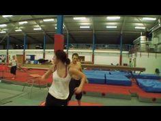 Chloe Bruce - UK martial arts sensation - practicing.