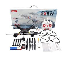 efaso x8W-Quadcopter FPV, color blanco/negro - http://www.midronepro.com/producto/efaso-x8-w-quadcopter-fpv-color-blanconegro/
