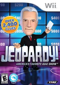 """http://picxania.com/wp-content/uploads/2017/08/jeopardy-nintendo-wii.jpg - http://picxania.com/jeopardy-nintendo-wii/ - Jeopardy - Nintendo Wii -   Price:    Join Alex Trebek on the set of """"America's Favorite Quiz Show!"""" Use your quick wits and lightning fast skills to be the first to pose your question!Player tracking system that compiles content statistics over timeTest your knowledge across a wide range of topic through 2,400 categories..."""