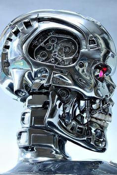 🌺🌻✿❀❁ For more great pins go to Terminator Movies, Terminator 1984, Film Sf, Skull Model, Humanoid Robot, Ex Machina, Movie Poster Art, Skull And Bones, Skull Art