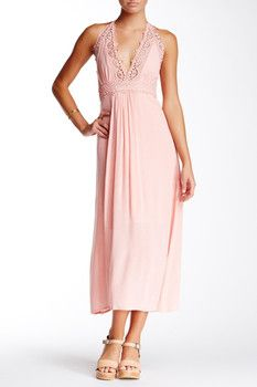 Meghan LA Zodiac Lace Maxi Dress