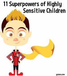 Highly Sensitive Child - Superpowers