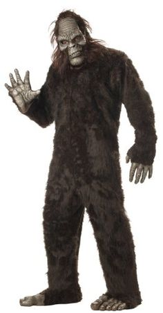 Bigfoot Costume: Dre