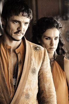 Oberyn Martell & Ellaria Sand Game of Thrones Season 4