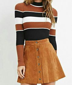 25 Stunning striped sweater for Women Winter Outfits Source by Mydailypinscom Fashion outfits Winter Outfits Women, Trendy Outfits, Fall Outfits, Fall Dresses, Moda Vintage, Vintage Mode, Vintage Style, Retro Vintage, 90s Fashion