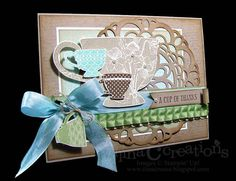 Cup of thanks by ilinacrouse - Cards and Paper Crafts at Splitcoaststampers
