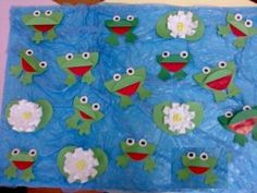 free frog bulletin board