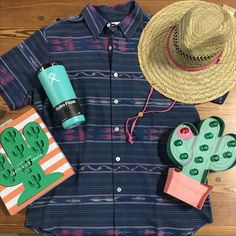 It's Cinco De Mayo, and that means cool drinks and even cooler shirts! Come stop by before heading out on the square! #cincodemayo #margaritas #fayettechill #sunnylife #hydroflask #smtx #txst #bobcats