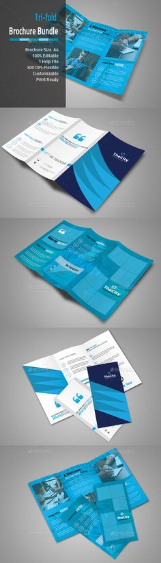 89 Best Tri Fold Brochure Images On Pinterest Tri Fold Brochure