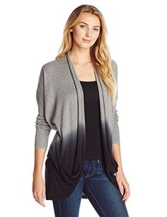 DKNY Jeans Women's Dip Dye Two Pocket Cardigan, Smoke Grey Heather, X-Small DKNY Jeans http://www.amazon.com/dp/B00KXA8OPA/ref=cm_sw_r_pi_dp_FwAavb05GNTAR