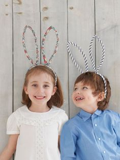 DIY Bunny Ears by countryliving  #Bunny_Ears #countryliving