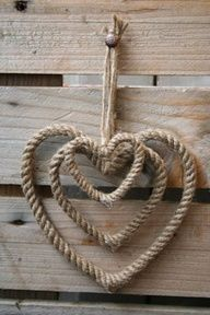 rope hearts #rope #hearts #crafts #rustic #cowboy (repin) ≈√192 x 288 | 27.7KB | pinterest.com