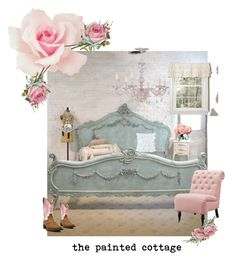 """the painted cottage"" by explorer-14880447644 on Polyvore featuring interior, interiors, interior design, home, home decor, interior decorating, Home Decorators Collection, HiEnd Accents, Lush Décor and LSA International"