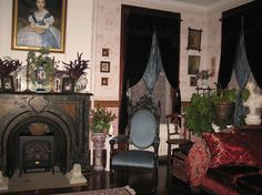 Mississippi Victorian Photos | Miss Fanny's Victorian Party House, living room. - photo by Terri J ...