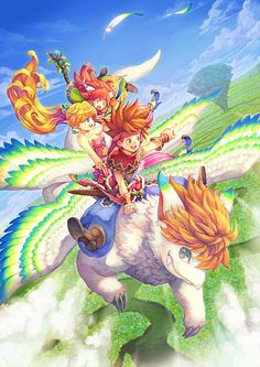 Secret of Mana. Seeing this reminds me of all the hours I spent playing video games with my brother.