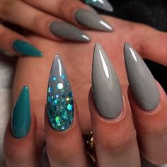 ▷ Over 130 ideas for pointed nails - framing and design - artificial nails . - ▷ Over 130 ideas for pointed nails – framing and design – artificial nails pointed ideas, lon - Hot Nails, Hair And Nails, Acrylic Nail Designs, Nail Art Designs, Nails Design, Stiletto Nail Designs, Simple Stiletto Nails, Sharp Nails, Uñas Fashion