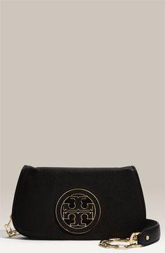 Tory Burch 'Amanda' Logo Flap Clutch, $325