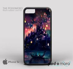Disney Tangled Castle Lights for iPhone 4/4S, iPhone 5/5S, iPhone 5c, iPhone 6, iPhone 6 Plus, iPod 4, iPod 5, Samsung Galaxy S3, Galaxy S4, Galaxy S5, Galaxy S6, Samsung Galaxy Note 3, Galaxy Note 4, Phone Case