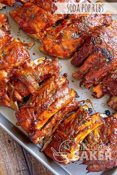 Like ribs made with cola or root beer? Mix those 2 pops for the best tasting ribs ever! Conventional, slow cooker and Instant Pot methods Slow Cooker Ribs, Slow Cooked Meals, Pressure Cooker Recipes, Pressure Cooking, Rib Recipes, Grilling Recipes, Chicken Recipes, Cooking Recipes, Dinner Recipes