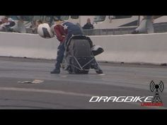 Pro Mod Nitrous Drag Bike Disintegrates During Run!
