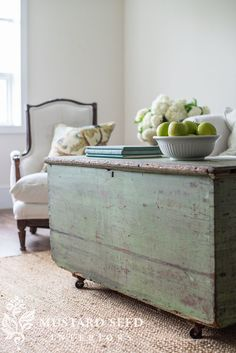 Vintage French Soul ~   miss mustard seed | see more vintage and antique pieces from miss mustard seed's studio that she has prepped for the Lucketts Spring Market!