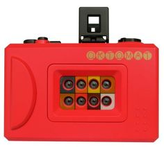Lomography OKTOMAT Compact 35mm Camera with 8 Serial Lenses $32.95