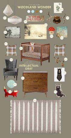 More woodland nursery ideas! Liapela.com