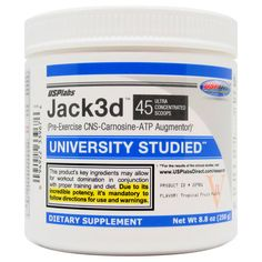Jack3d Pre Workout DMAA USP LAB Tropical 250g Dose /ALTE FORMEL / alte Version / US Version Jack3d DMAA Workout, Tropical, The Incredibles, Diet, Lab, Low Fiber Foods, Fatty Acid Metabolism, Health, Work Out
