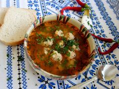 Ciorba de perisoare Palak Paneer, Thai Red Curry, Deserts, Cooking, Health, Ethnic Recipes, Food, Supe, Mai