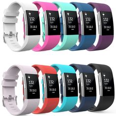 Soft Silicone Replacement Band for <font><b>Smart</b></font> Fitbit Charge 2 Heart Rate Fitness <font><b>Wristband</b></font> Bands Straps Bracelet Belt DIY Accessories. >> Check out more at the picture link