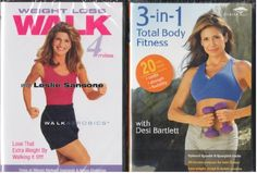 Walk Aerobics  Weight Loss Walk 4 Miles with Leslie Sansone  3in1 Total Body Fitness  Cardio Low Impact  Strength Sculpt and Tone Legs Arms Abs  Flexibility Yoga and Stretching  Exercise 2 Pack Set >>> Details can be found by clicking on the image.