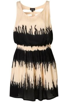 Black Tie Dye Cover Up - StyleSays