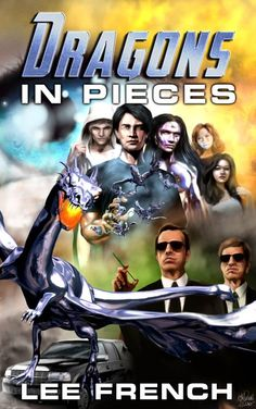Dragons In Pieces by Lee French has a new cover!