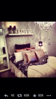 Teenage Girl Bedroom.
