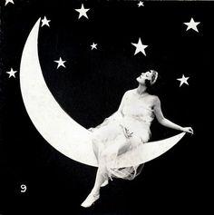 Paper moon. #vintage