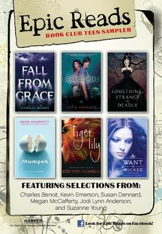 Looking for your book club's next discussion-worthy read? Want a fun, thought-provoking book just for yourself? Preview six of summer's teen book club picks with sneak peeks of Fall from Grace by Charles Benoit, The Lost Code by Kevin Emerson, Something Strange and Deadly by Susan Dennard, Thumped by Megan McCafferty, Tiger Lily by Jodi Lynn Anderson, and A Want So Wicked by Suzanne Young.