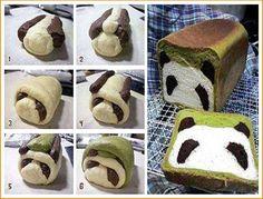 DIY Panda Bread DIY Projects