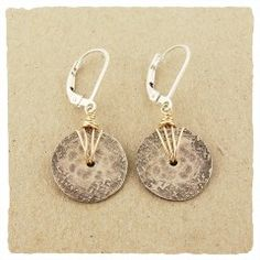 Mini Sundial Earrings