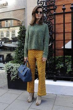 London Fashion Week Street Style : Hanneli Mustaparta