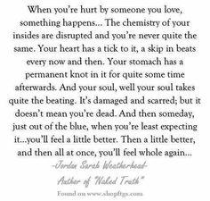 You'll feel whole again