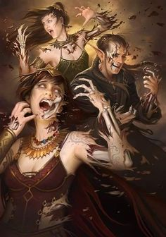 """""""Your Flesh Is Your Weakness"""" From Magic The Gathering by Howard Lyon"""