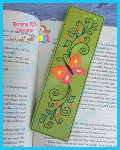 Butterfly 4 Book Mark