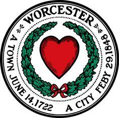 Seal of Worcester, Massachusetts